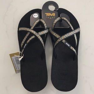 Size 11 Teva Wedge Sandals